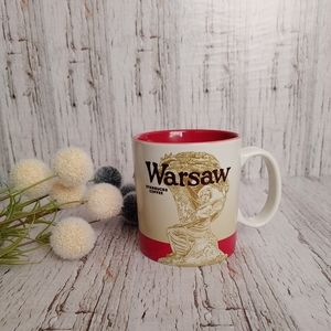 STARBUCKS | 16 oz Warsaw Poland You Are Here Mug